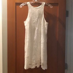 Lovers & Friends White Shift Dress